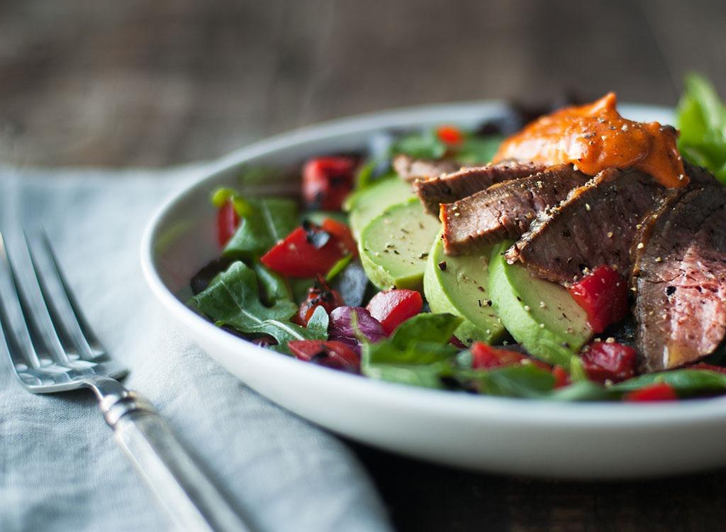 Prepare for nutrition salad