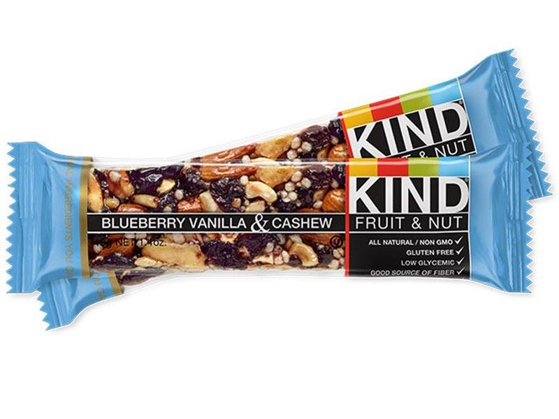 Untrustworthy foods kind blueberry bar