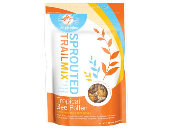 Sprouted food trail mix