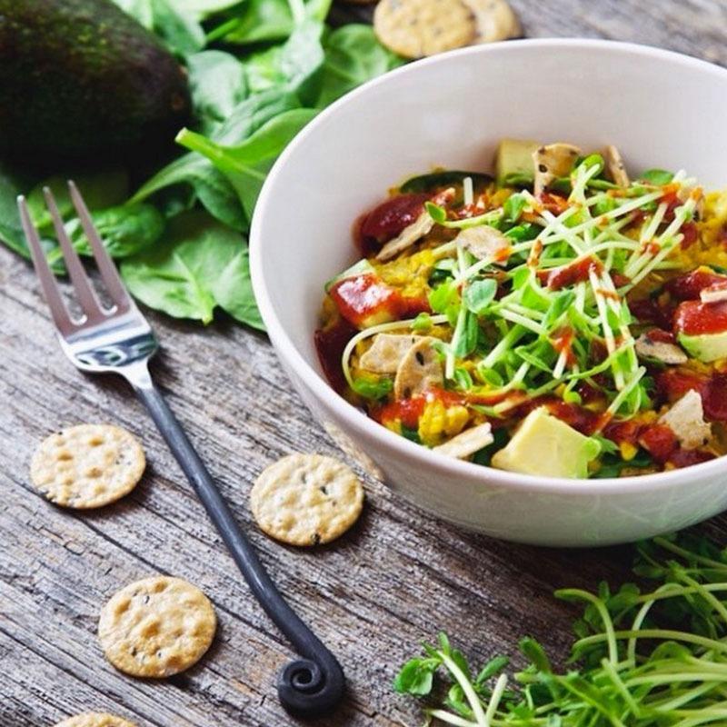 Savory oatmeal picklesnhoney