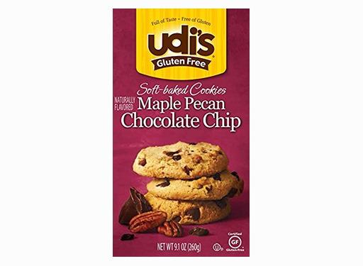 Udi's Gluten-free Soft Baked Maple Pecan Chocolate Chip Cookies