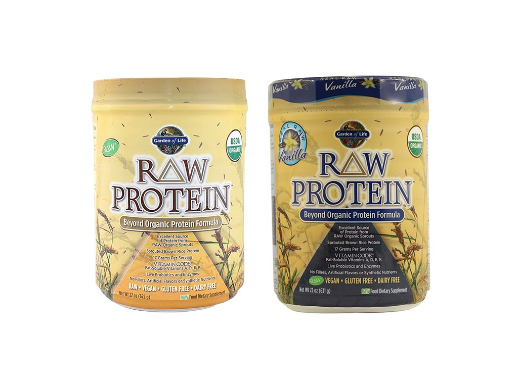 garden of life vegan protein powder