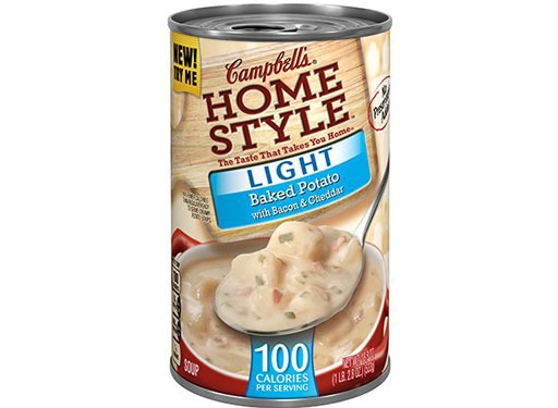 Campbell's Home Style Light Baked Potato with Bacon & Cheddar Soup