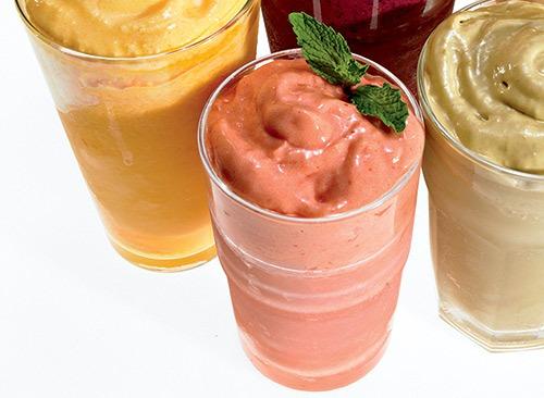 papaya berry smoothie