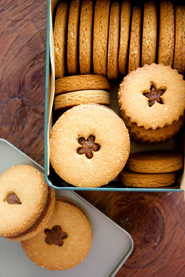 Quinoa and Almond Flour Cookies with Chai Spiced Almond Butter