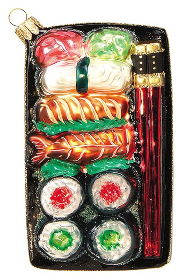 Sushi ornament