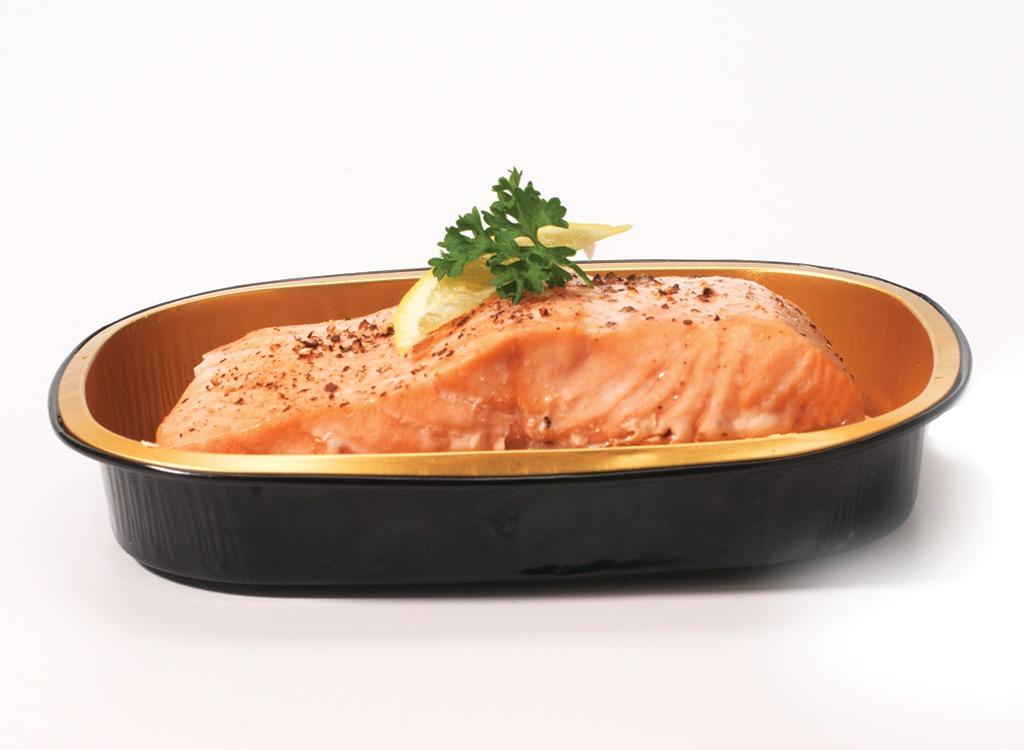 ready made wild salmon